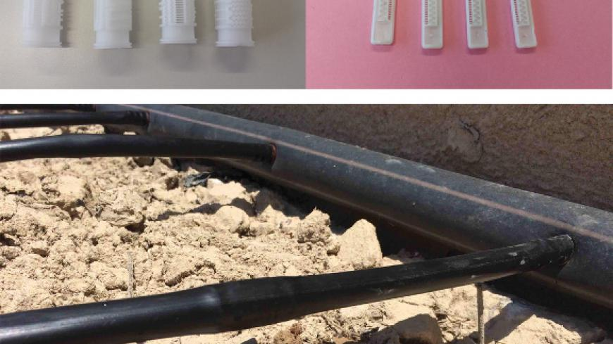 TUBULAR AND FLAT BIODEGRADABLE INJECTION MOULDED DRIPPERS