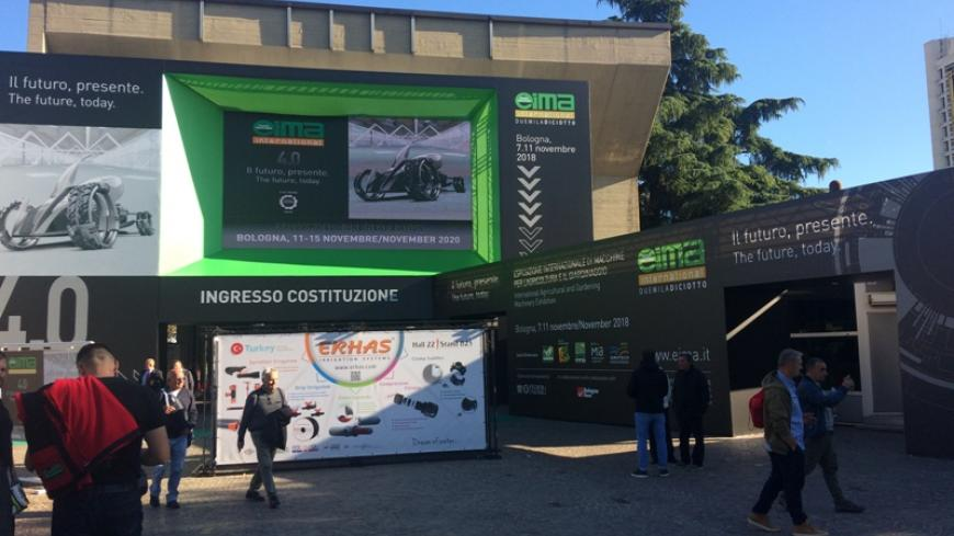 EIMA Bologna, November 7-11, 2018 one of the largest agricultural