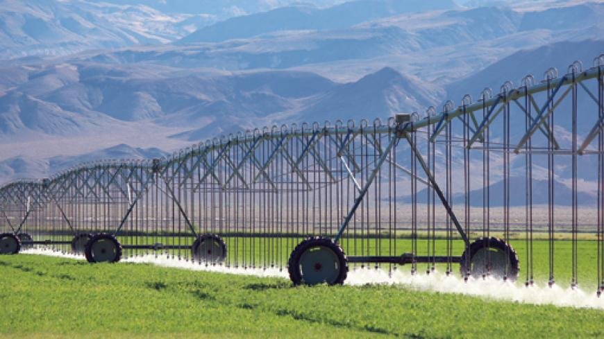 """I found that with the LEPA bubbler system, it allowed us to apply the water we have available in a morproductive way. The water that is being applied is resulting in less surface moisture and more beneficial subsoil moisture."""""""