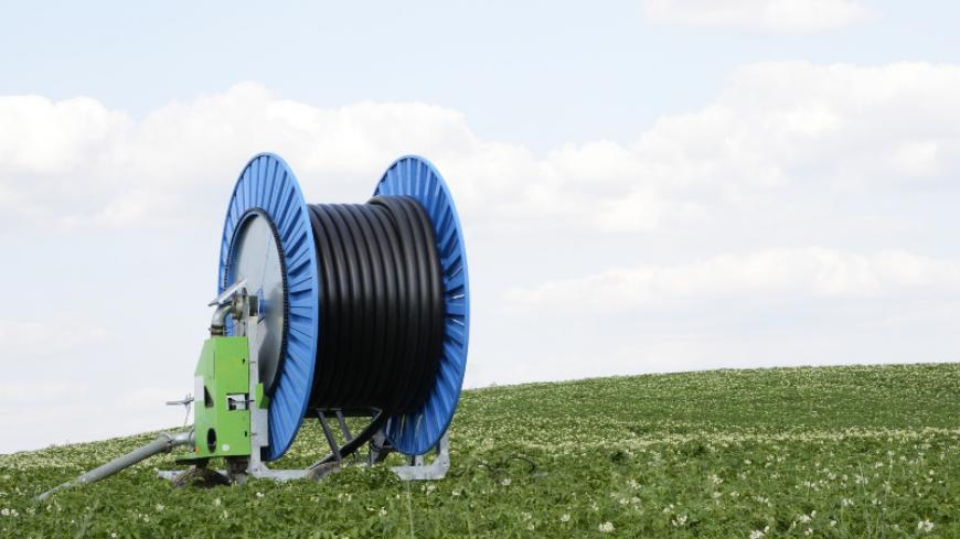 The hose reels require very high quality PE products