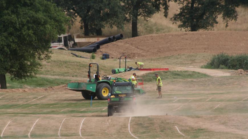 FOR THE HOSTING OF THE 2018 RYDER CUP, ALL THE PIPES HAVE BEEN REPLACED ON THE COURSES AS WELL AS THE SPRINKLERS.