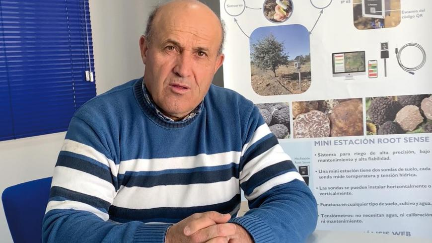 """According to the statement made by Eladio Salvador Rendón, one of the pioneers of modern truffle  farming and one of the most experienced in the region: """"As a result of the progress in irrigation  technology, we have been able to adjust the system so that the precipitations that fall naturally  meet the actual water requirements, thus ensuring a very even production."""