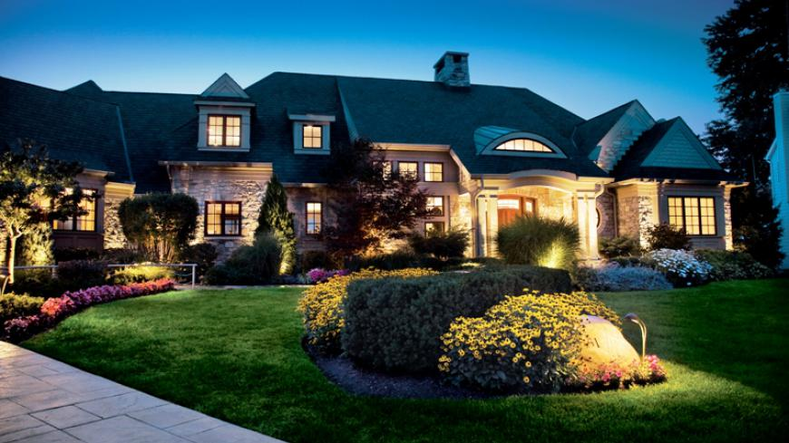 The addition of residential landscape lighting also provides safety, security and peace of mind during evening hours