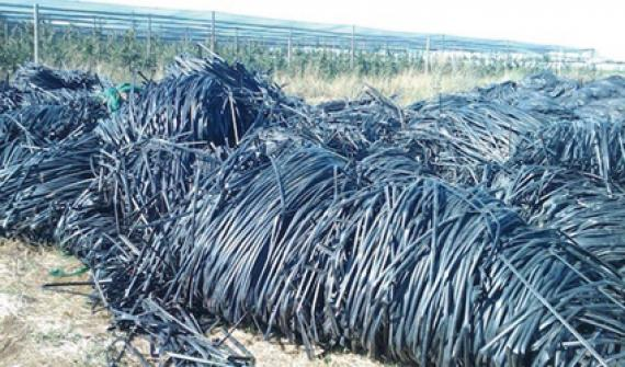 A new scheme for recycling flexible irrigation tubes