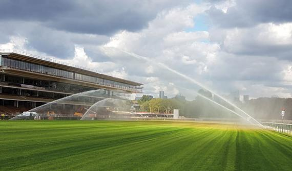 The Longchamp race course: A customised irrigation system for an exceptional site