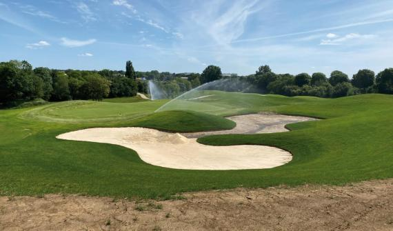 The Roissy International Golf Course inaugurated in September